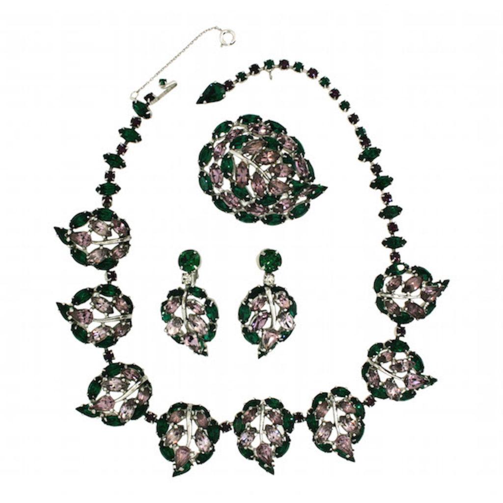 A Christian Dior by Mitchel Maer Jewellery Set, 1950s