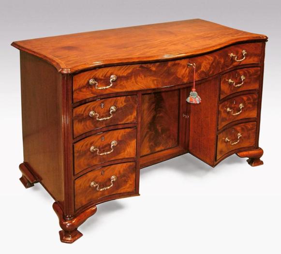 An antiques desk from Patrick Sandberg