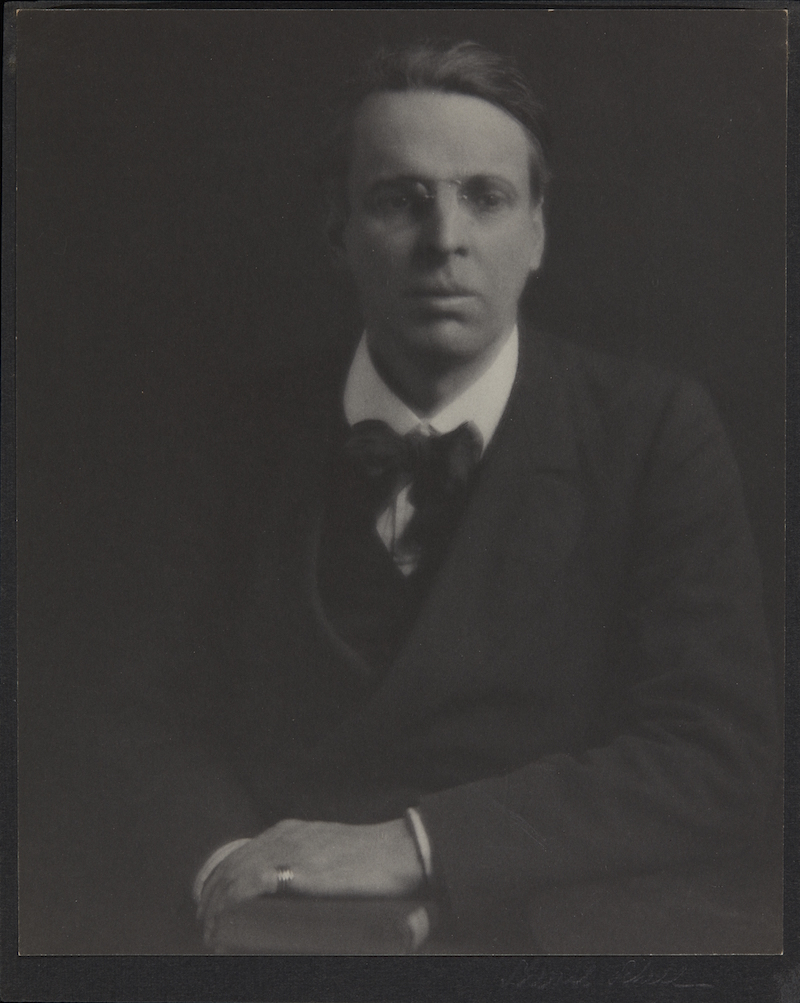 Portrait of W.B. Yeats