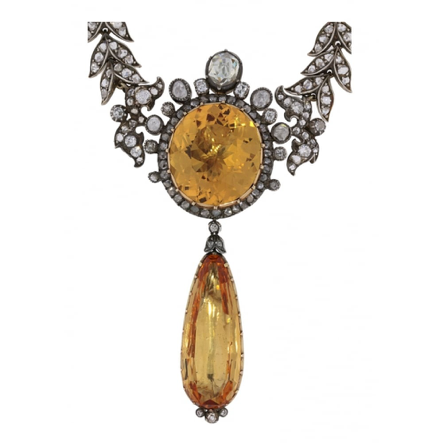 A beautiful example of antique jewellery