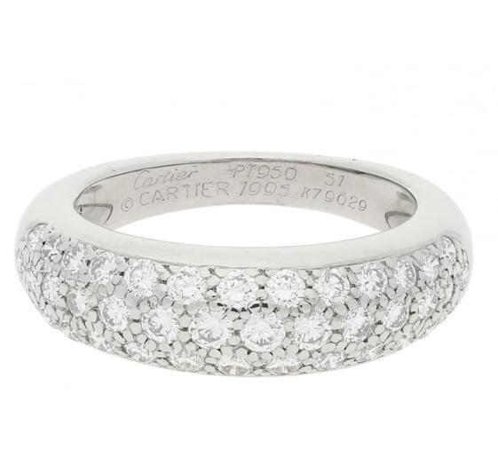 An antique Cartier ring