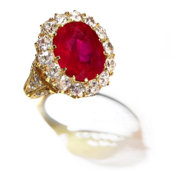Antique Burmese ring