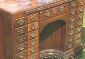 18th-century apothecary desk