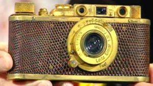 Gold Leica 2 Luxus Camera