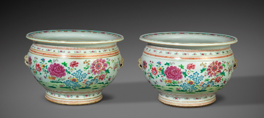 antique Chinese fish bowls