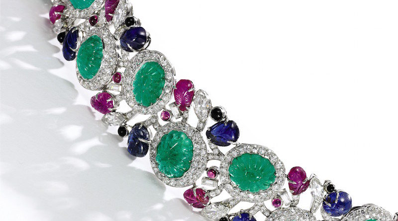 Gem set and diamond bracelet, 1950s Estimate £120,000-£150,000