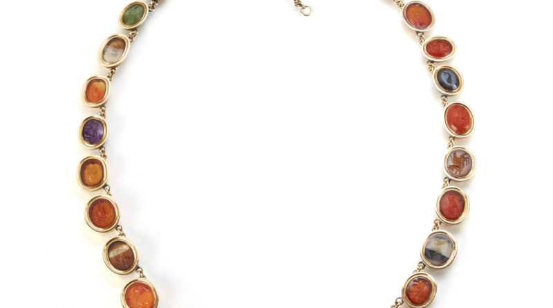 Roman Intaglio necklace sold for £28000