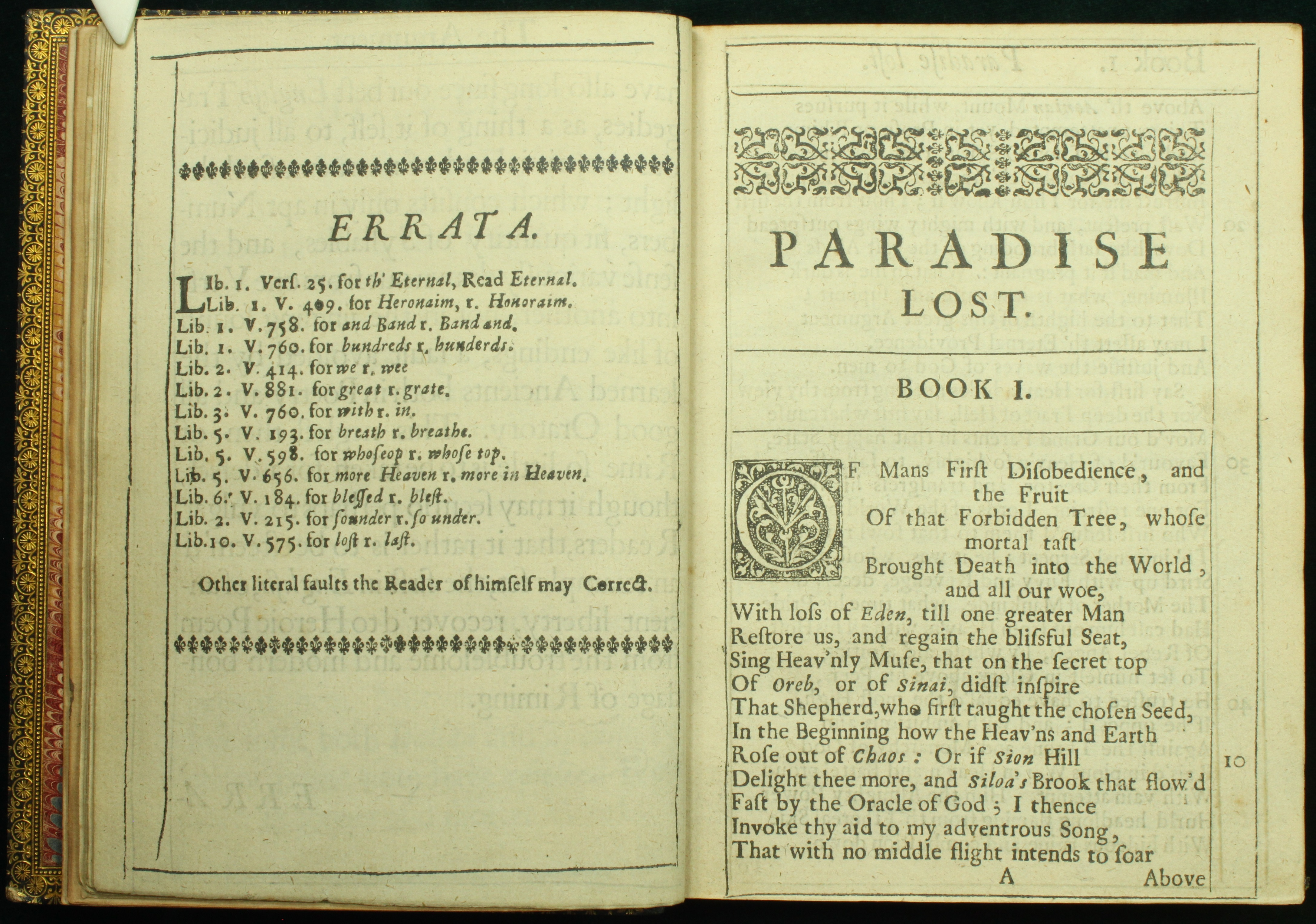 miltons most important paradise book essay Free papers and essays on john milton`s paradise lost   essay, research paper: john milton`s paradise lost  the epic elements present in book i of paradise.