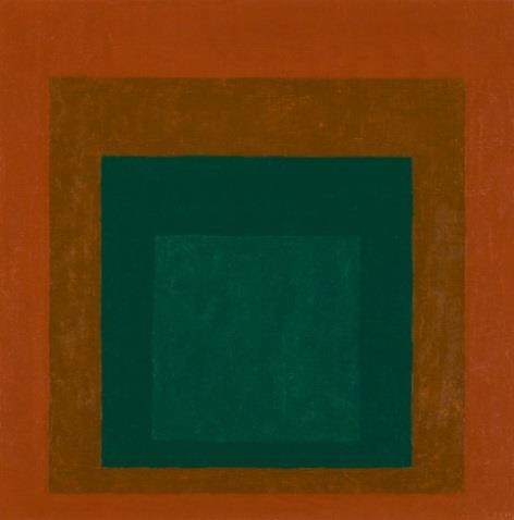 Josef Albers Study for Homage to the Square: Coniferous