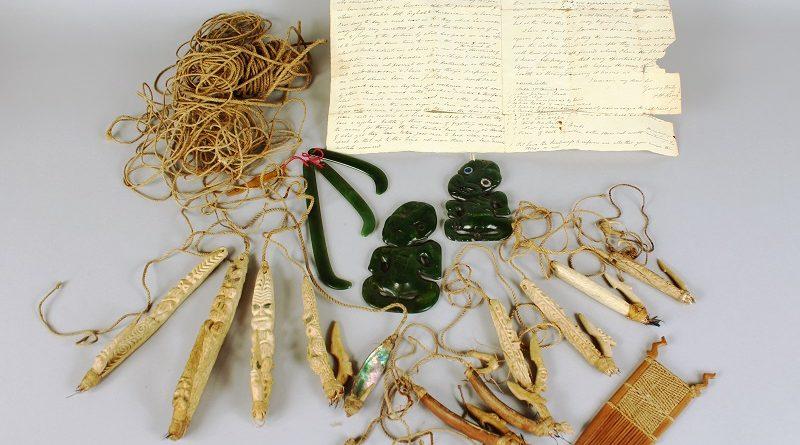 Maori artefacts