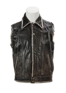Mick Jagger leather vest