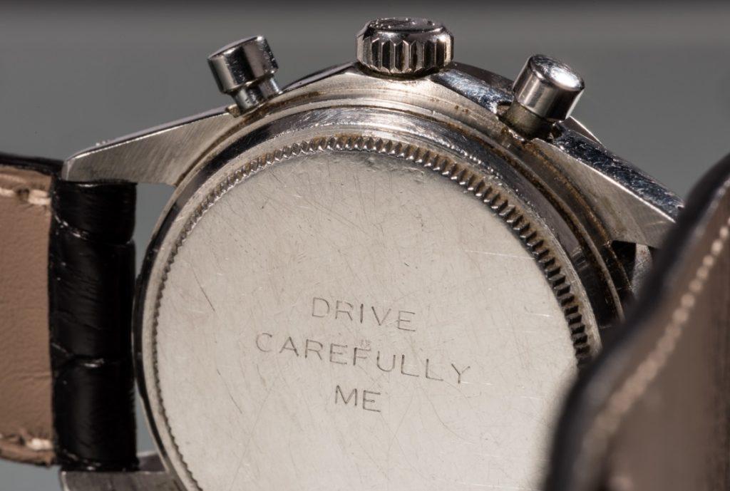 Paul Newman Daytona Rolex reverse