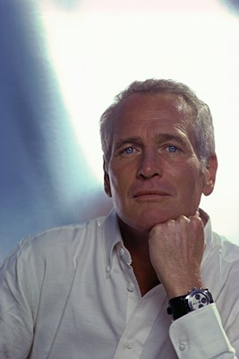 Paul Newman and his Rolex Daytona watch