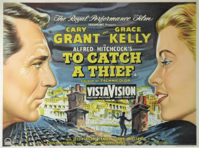 To Catch A Thief film poster