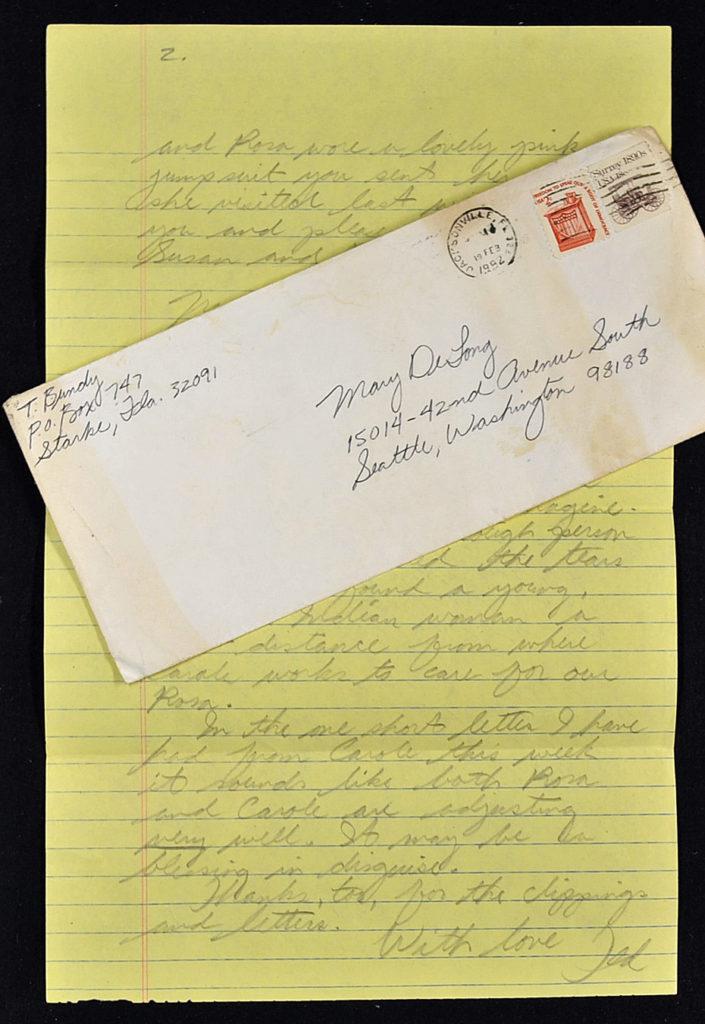 Ted Bundy letter
