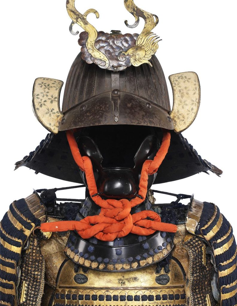 Antique Japanese armour