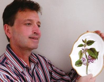 Porcelain expert Brad Dover