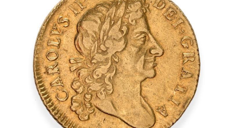 Charles II guinea