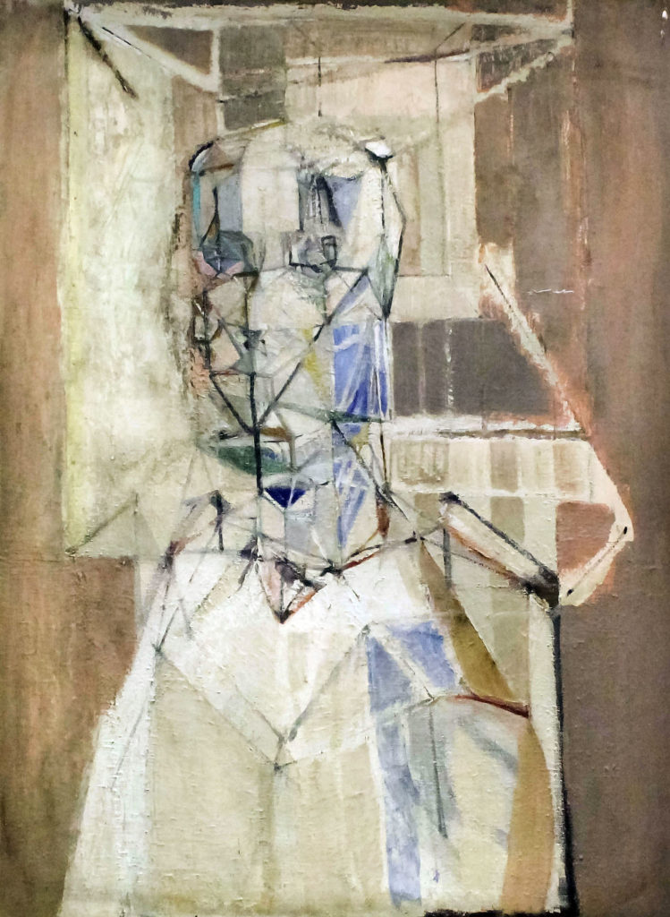 Martin Froy (born 1926) titled Head and Shoulders