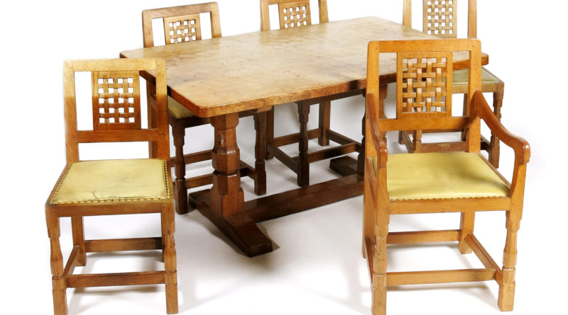 Examples of Mouseman furniture