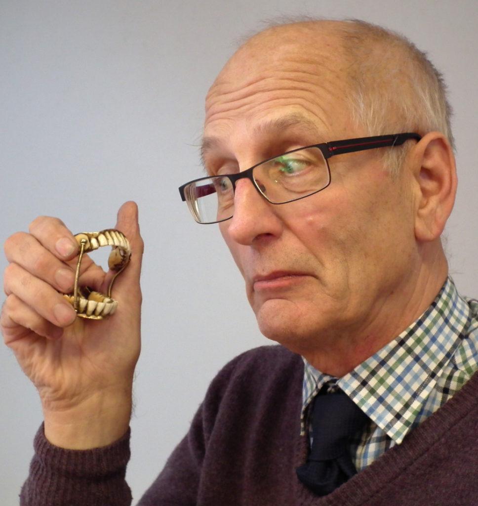 Nick Allsopp and the rare set of false teeth