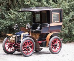 1898 Germain 6hp Twin-Cylinder Open Drive Limousine