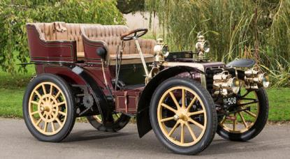 1903 Panhard et Levassor Model B 10hp Four-Cylinder Rear-Entrance Tonneau