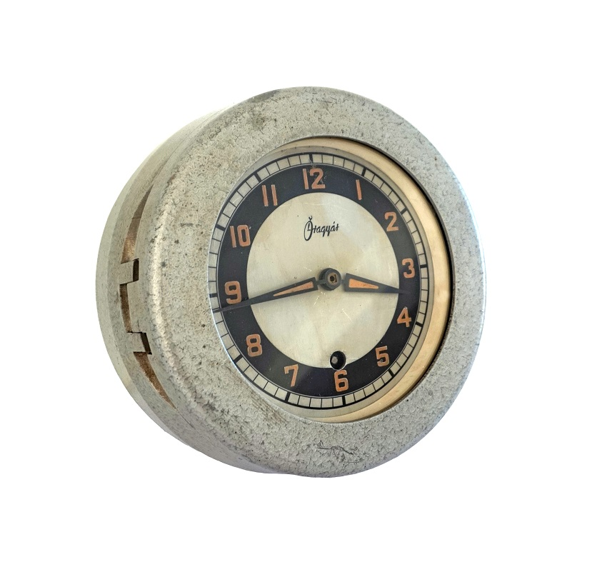 1950s submarine clock £295 - Good Time Antiques