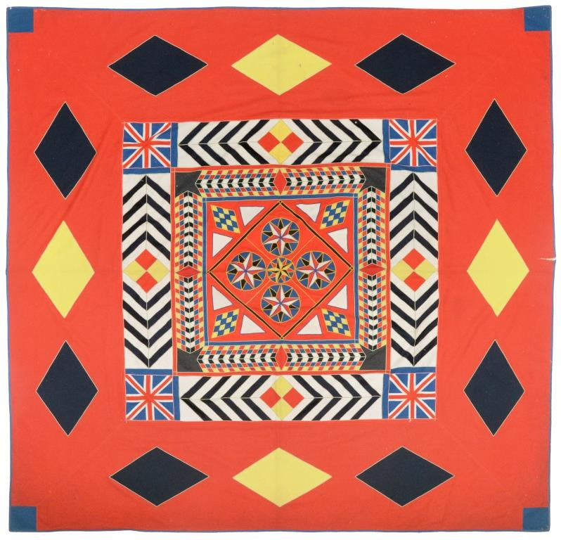 The Antique Military Quilt
