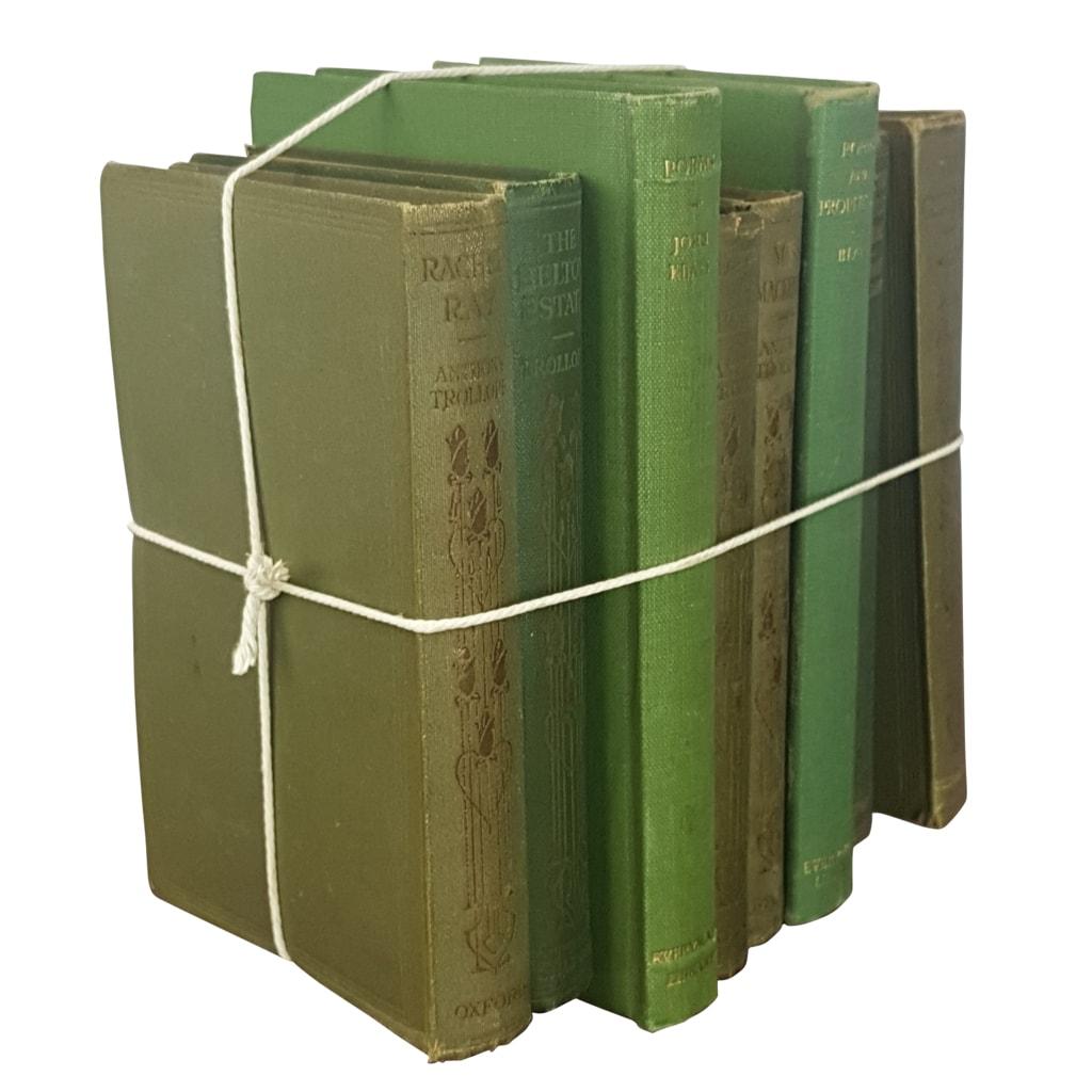 A bundle of antique books