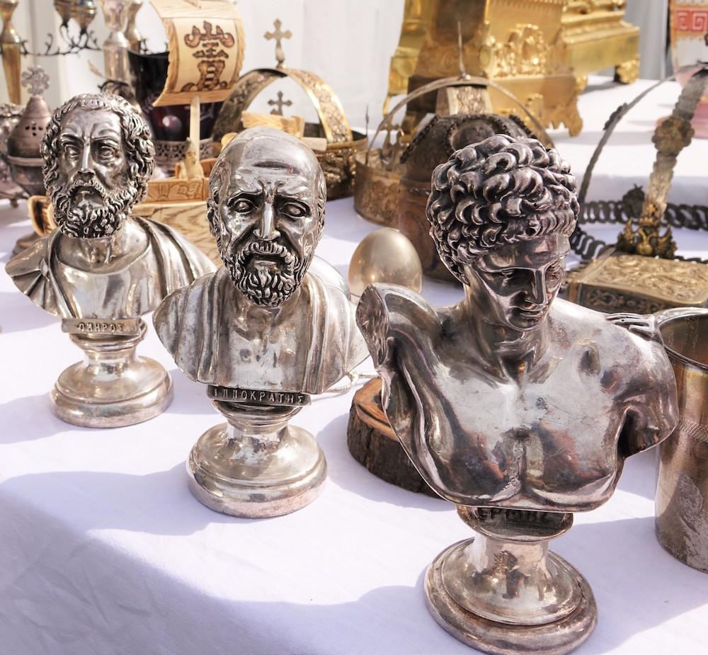Greek antiques at IACF Fair