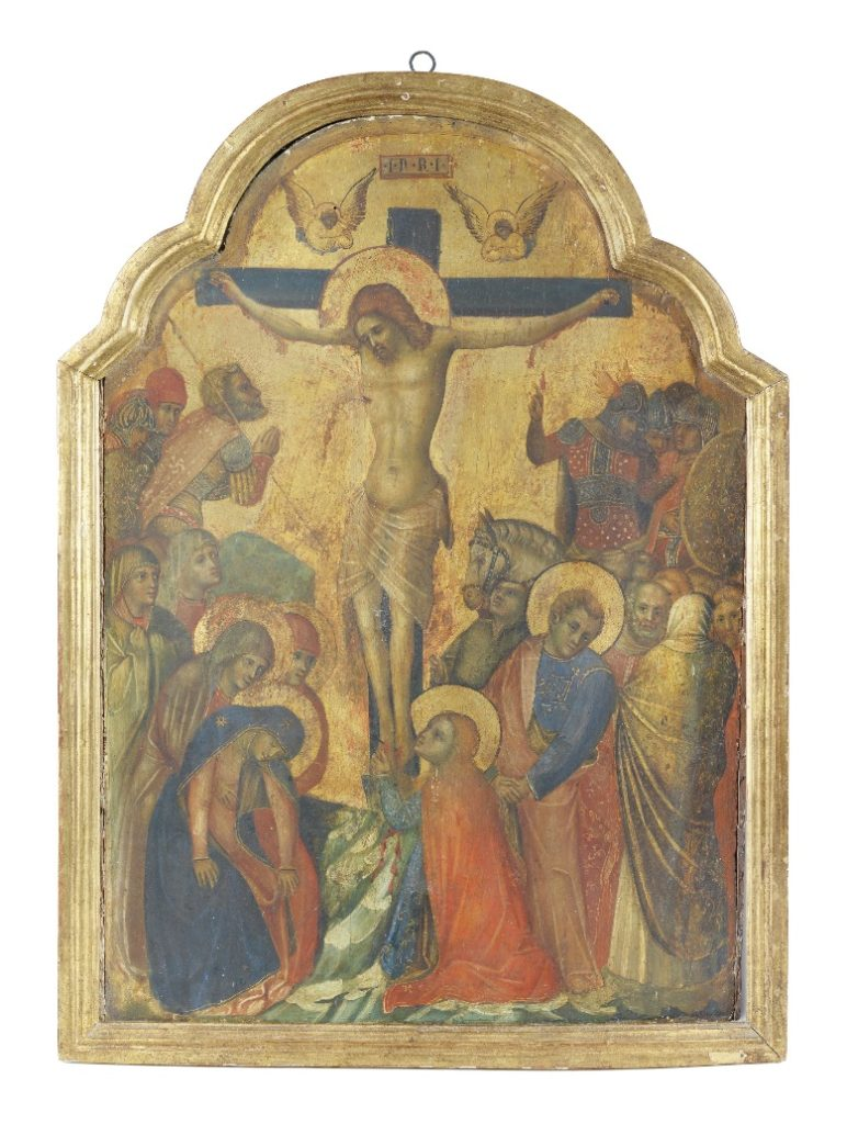 14th century panel Crucifixion by Lorenzo Veneziano