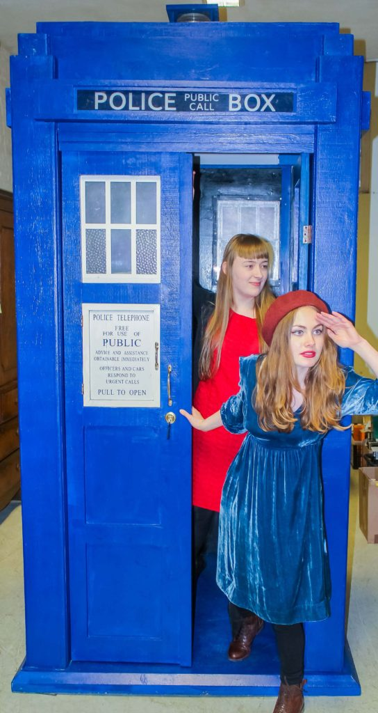 Replica Dr Who Tardis set to be sold