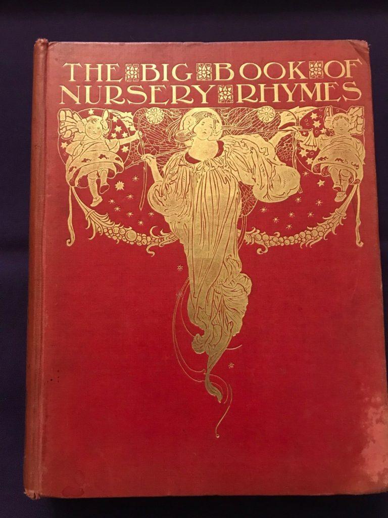 The Big Book of Nursery Rhymes rare book