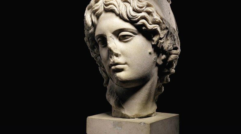 Roman marble head