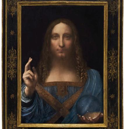 Leonardo da Vinci Salvator Mundi