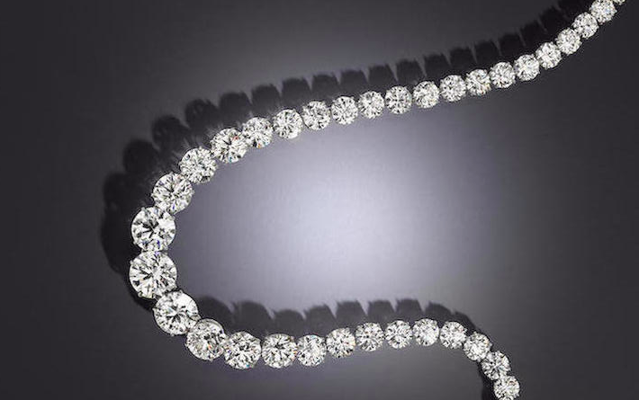 Zsa Zsa Gabor's diamond necklace