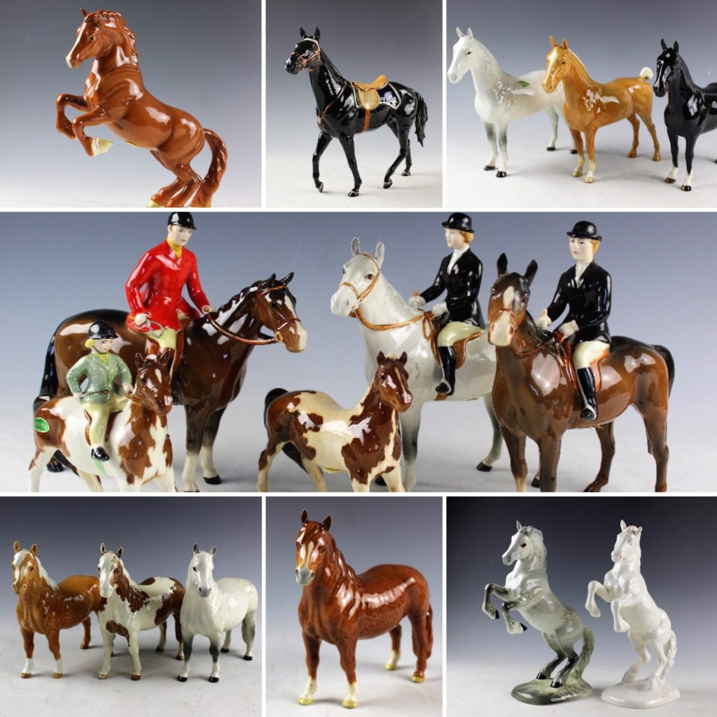 Part of a large collection of Beswick, which sold for £25000