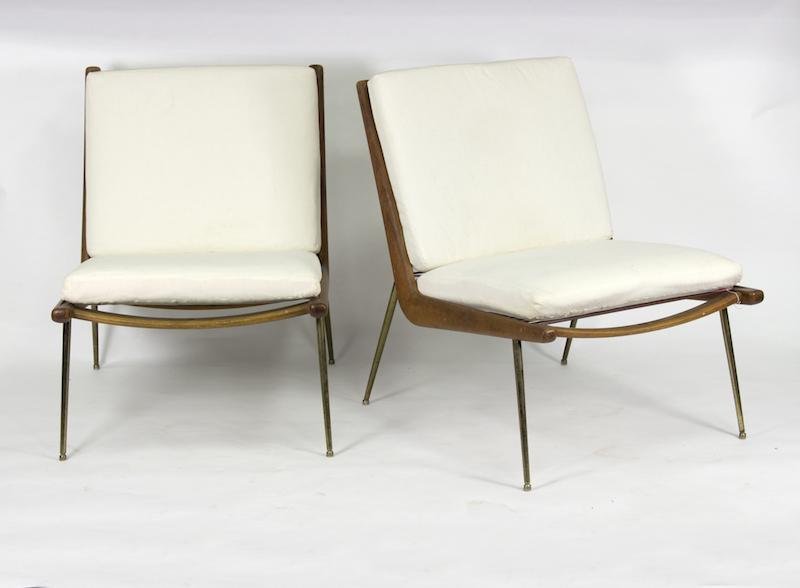 Boomerang chairs by Peter Hvidt and Orla Molgaard Nielsen for France & Son