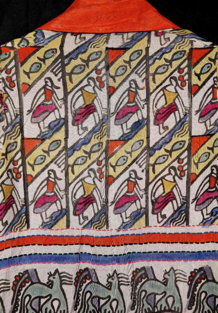 A section of the British avant-garde fabric
