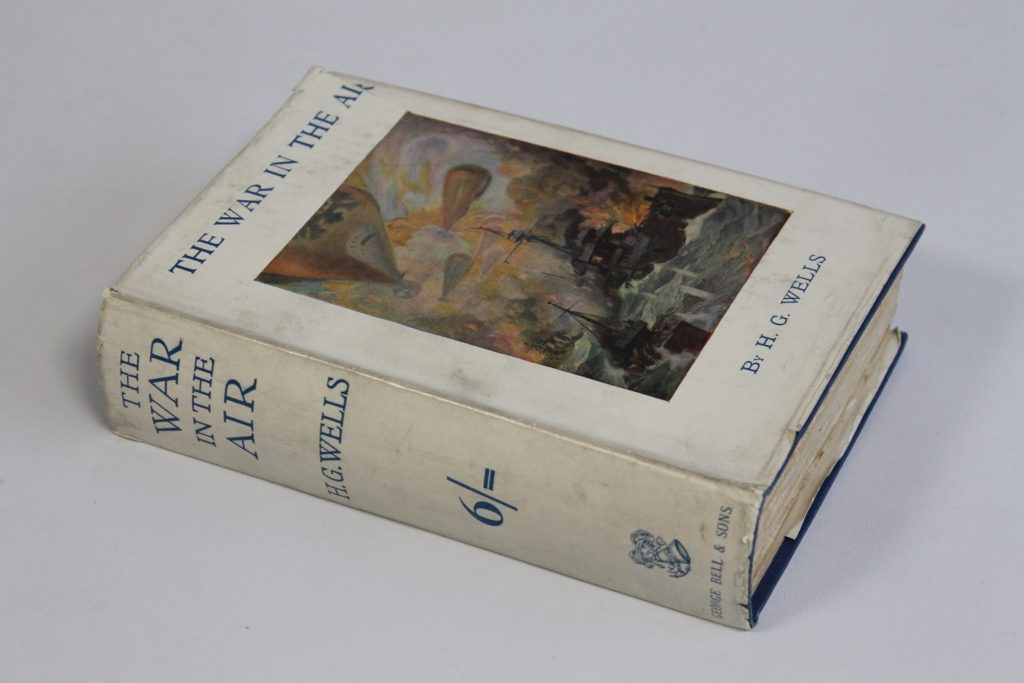 First edition copy of H.G. Wells The War in the Air