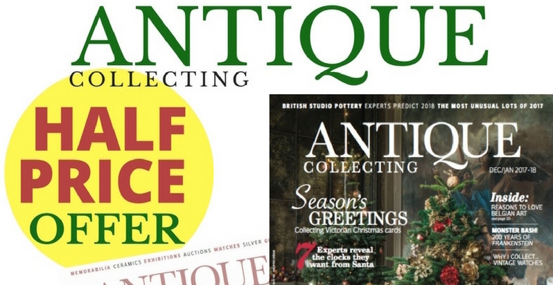 Half price subscription to Antique Collecting magazine