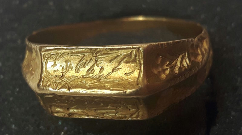 15th century ring found by Adam Day