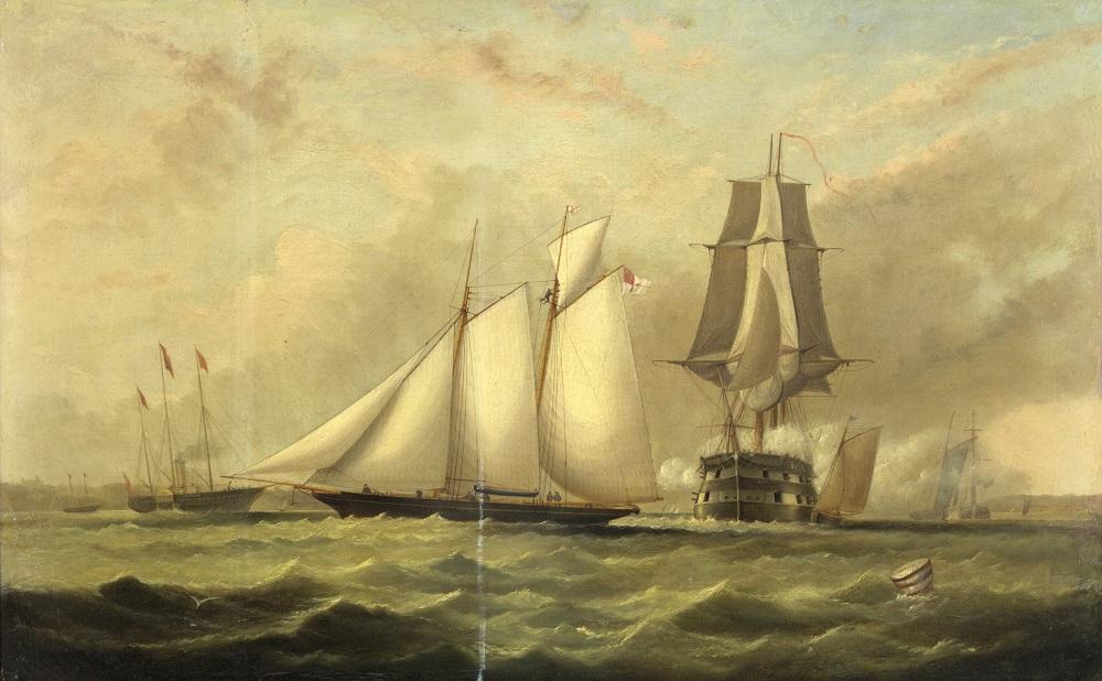 Arthur Wellington Fowles painting