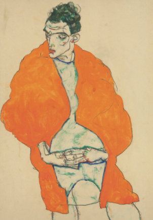 The works of Egon Schiele