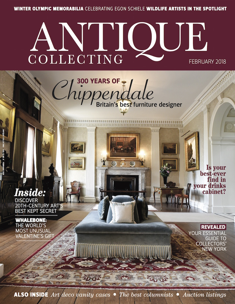 Antique Collecting magazine February 2018 cover
