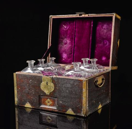 Lord Horatio Nelson's grog chest