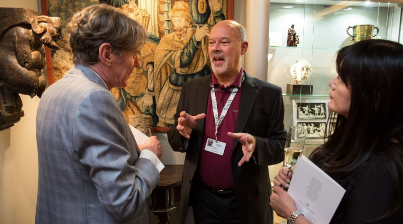 Paul Beedham at BADA Antiques Fair