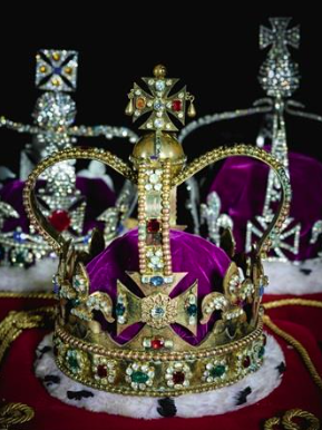 A replica set of the Crown Jewels