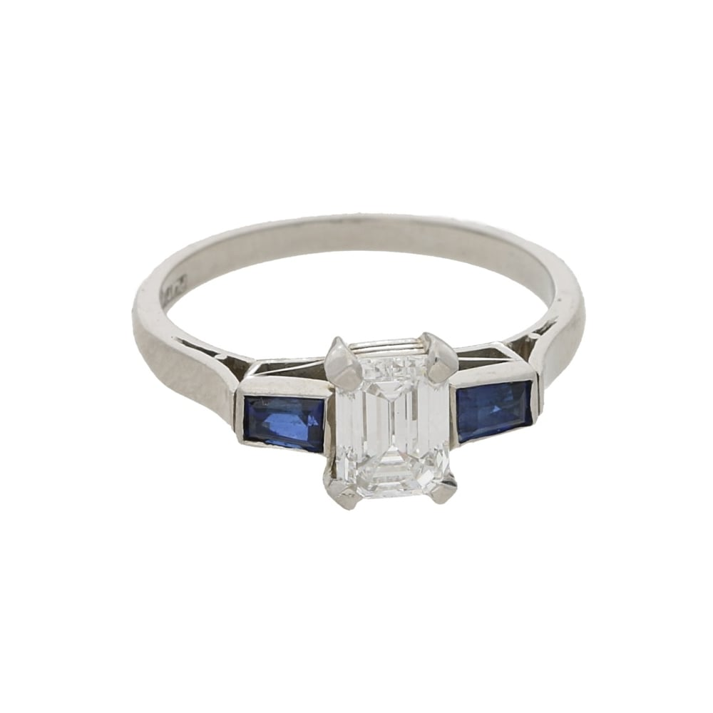 An example of a beautiful antique engagement ring for sale at Susannah Lovis